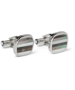 Mont Blanc | Montblanc Mother-Of-Pearl T-Bar Cufflinks