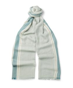 Loro Piana | Striped Cashmere And Silk-Blend Scarf