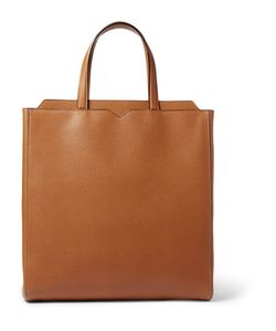 Valextra | Leather Tote Bag