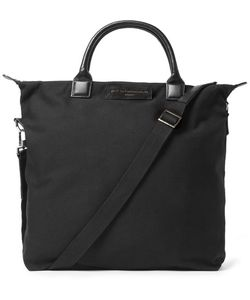 Want Les Essentiels | Ohare Leather-Trimmed Organic Cotton-Canvas Tote Bag