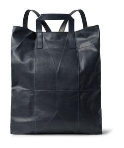 BERLUTI | Origami Convertible Leather Backpack