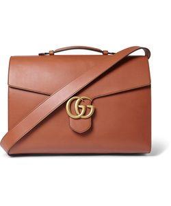 Gucci | Leather Messenger Bag