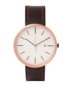 Uniform Wares | M40 Rose Gold Pvd-Plated Stainless Steel And Leather