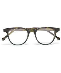 CUTLER & GROSS   Cutler And Gross D-Frame Tortoiseshell Acetate Optical Glasses Dark