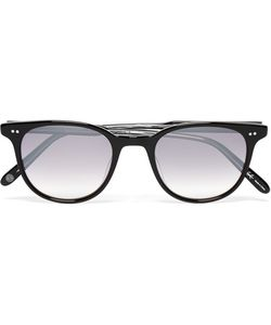 Garrett Leight California Optical | Wellesley D-Frame Acetate Mirrored Sunglasses