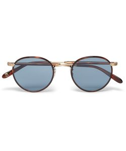 Garrett Leight California Optical | Wilson Round-Frame Acetate And Gold-Tone
