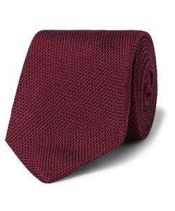 Kingsman   Drakes Silk-Grenadine Tie