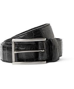 Santiago Gonzalez | 3cm Crocodile Belt