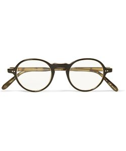 Garrett Leight California Optical | Coeur Dalene Round-Frame Acetate Optical Glasses