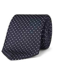 Turnbull & Asser | Polka-Dot Silk Tie