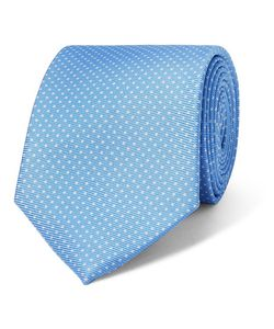 Drake's | 8cm Polka-Dot Silk-Twill Tie