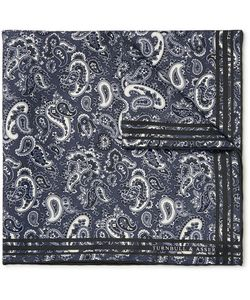 Turnbull & Asser | Paisley-Print Silk-Twill Pocket Square