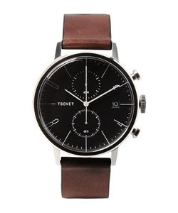 Tsovet | Jpt-Cc38 Stainless Steel And Leather Watch