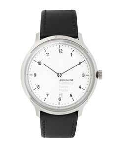 Mondaine | Helvetica No1 Stainless Steel And Leather Watch