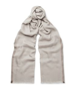 Loro Piana | Mélange Cashmere And Silk-Blend Scarf