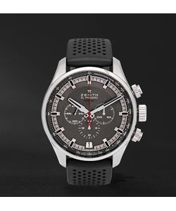 Zenith | El Primero Sport Stainless Steel And Rubber Watch