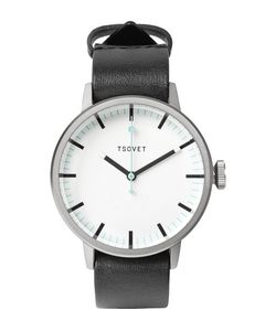 Tsovet | Svt-Sc38 38mm Stainless Steel And Leather Watch