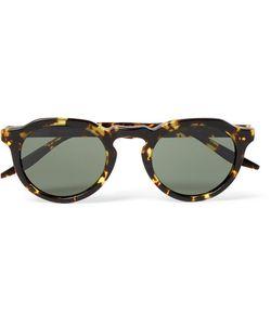 BARTON PERREIRA   Ascot Round-Frame Acetate Sunglasses