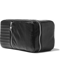 Patricks | Quilted Leather Wash Bag