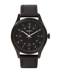 Tsovet | Svt-Rm40 Stainless Steel And Leather Watch