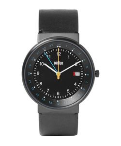Braun | Bn0142 Classic Stainless Steel And Leather Watch