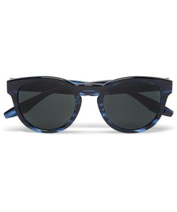 BARTON PERREIRA   Reece Round-Frame Acetate Sunglasses