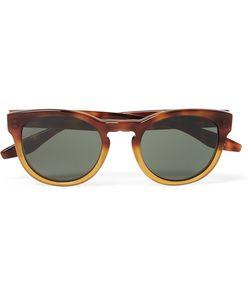 BARTON PERREIRA   Reece Round-Frame Dégradé Acetate Sunglasses