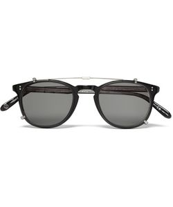 Garrett Leight California Optical | Kinney Acetate Optical Glasses With Clip-On