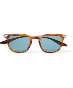 BARTON PERREIRA   Dean Square-Frame Acetate And Gold-Tone Sunglasses