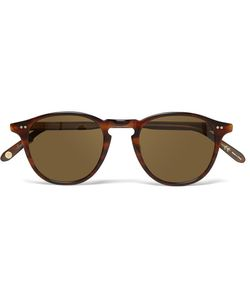 Garrett Leight California Optical | Hampton Round-Frame Tortoiseshell Acetate Sunglasses