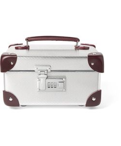 Globe-Trotter | Ekocycletrade Leather-Trimmed Aluminium Watch Case