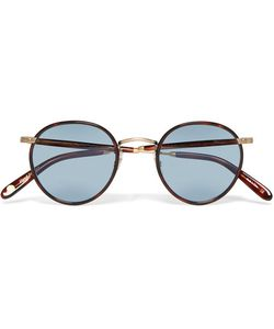 Garrett Leight California Optical | Wilson Round-Frame Tortoiseshell Acetate Sunglasses