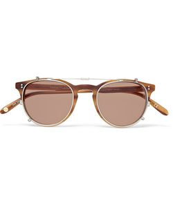 Garrett Leight California Optical | Milwood Tortoiseshell Acetate Optical Glasses With