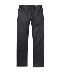 JEAN SHOP | Mick Slim-Fit Raw Selvedge Denim Jeans Dark