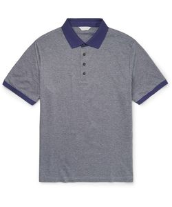 GIEVES & HAWKES | Gieve Hawke Triped Cotton Polo Hirt