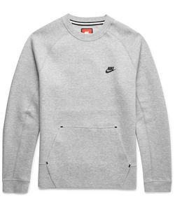 Nike | Cotton-Blend Tech Fleece Weathirt