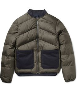 The Workers Club | The Worker Club Reverible Quilted Hell Down Bomber Jacket