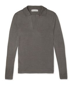 GIEVES & HAWKES | Gieve Hawke Knitted Ilk Polo Hirt