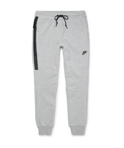 Nike | Lim-Fit Cotton-Blend Tech Fleece Weatpant