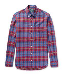 Gitman Vintage | Button-Down Collar Checked Cotton Shirt