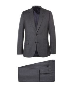 Paul Smith | London Grey Soho Slim-Fit Checked Wool Suit