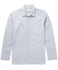 Oliver Spencer Loungewear | Oliver Pencer Loungewear Triped Cotton Pyjama Hirt