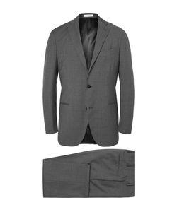Boglioli | Grey Slim-Fit Virgin Wool Suit