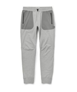 Reigning Champ | Tapered Cotton-Jersey And Stretch-Shell Sweatpants