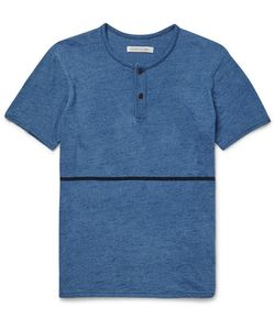 OUTERKNOWN | Equator Sli-Fit Cotton Henley T-Shirt