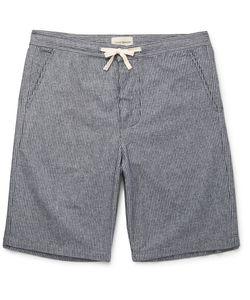Oliver Spencer Loungewear | Oliver Pencer Loungewear Triped Cotton Pyjama Hort