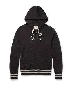 Todd Snyder + Champion | Todd Snyder Chapion Sli-Fit Loopback Cotton-Jersey Zip-Up Hoodie