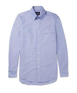 Drake's | Slim-Fit Button-Down Collar Cotton Oxford Shirt