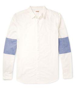Kapital | Contrast-Panelled Cotton Shirt