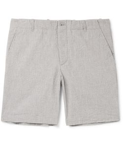 Freemans Sporting Club | Cotton-Seersucker Shorts
